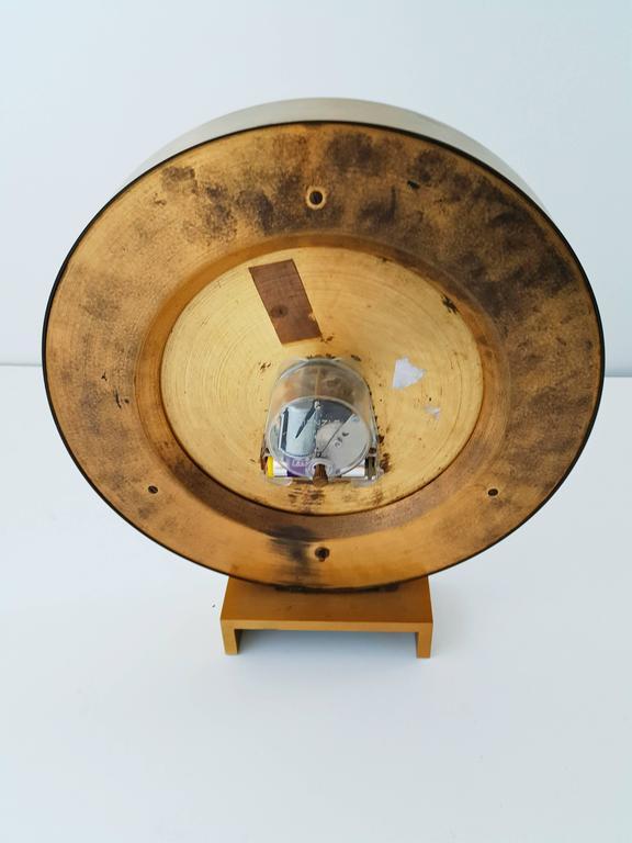 Large Kienzle Automatic Table World Timer Zone Clock, 1960s 10