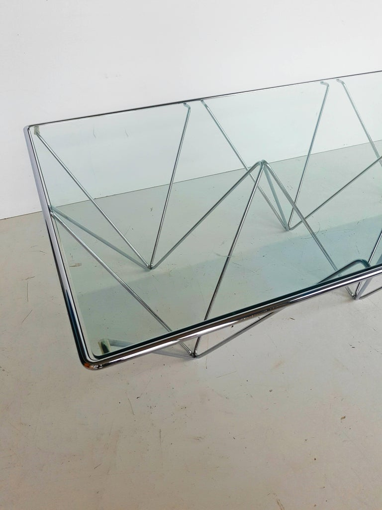 Paolo Piva Attributed Coffee Table for B&B Italia For Sale 2