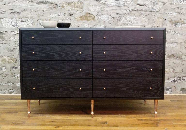 Modern Wide Pacific Dresser by Volk For Sale