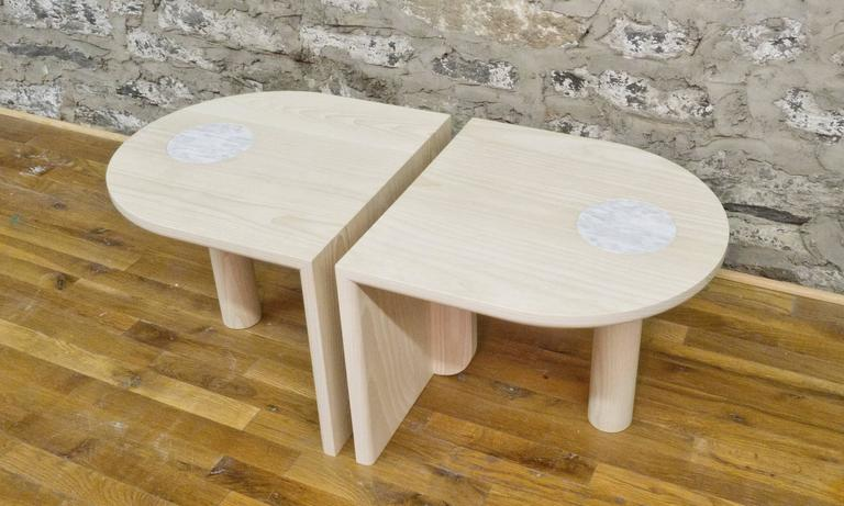 Contemporary St. Charles Occasional Tables by Volk For Sale