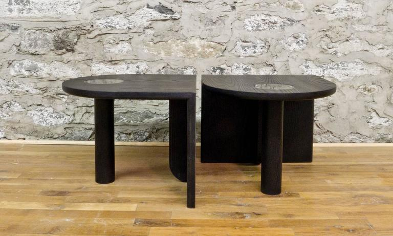 Marble St. Charles Occasional Tables by Volk For Sale