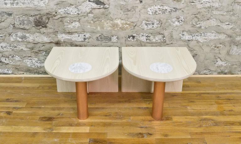 St. Charles Occasional Tables by Volk In Excellent Condition For Sale In Brooklyn, NY