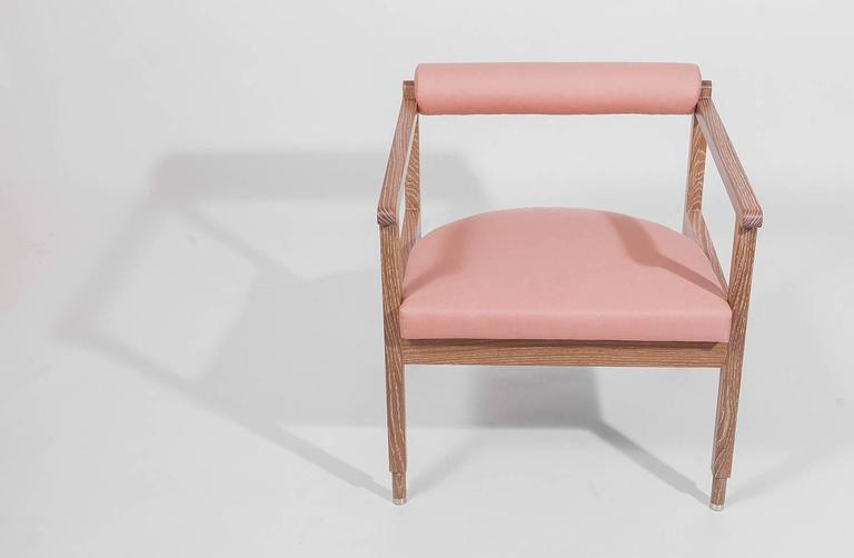 Contemporary Saint Charles Armchair by Volk For Sale