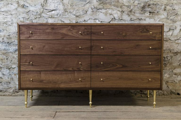 Wide Pacific Dresser by Volk In New Condition For Sale In Brooklyn, NY