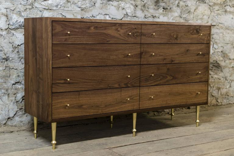 Contemporary Wide Pacific Dresser by Volk For Sale