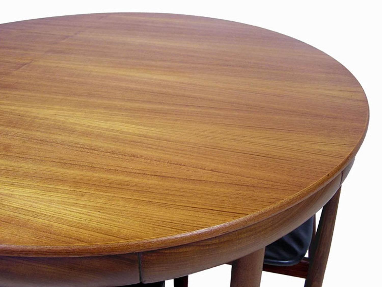 1960s Hans Olsen Teak Dining Table and Chairs, Denmark at ...