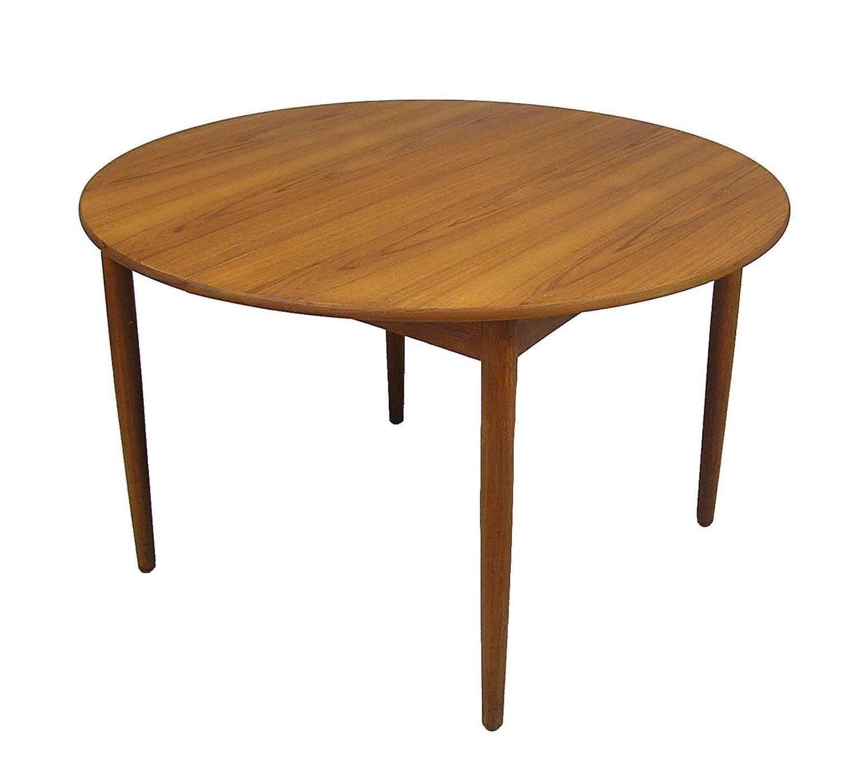 1950s Danish Teak Dining Table By B Rge Mogensen Model 121 For Sale