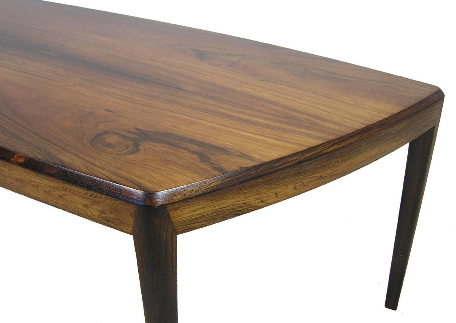 1960s Brazilian Rosewood Coffee Table by Kai Kristiansen