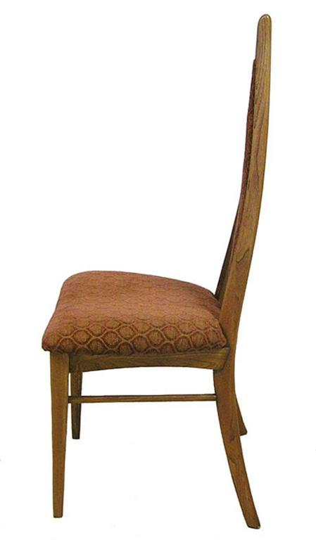 1950s mid century modern dining chairs by danis et freres