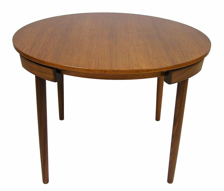 1950s Hans Olsen Teak Dining Table And Chairs Denmark At