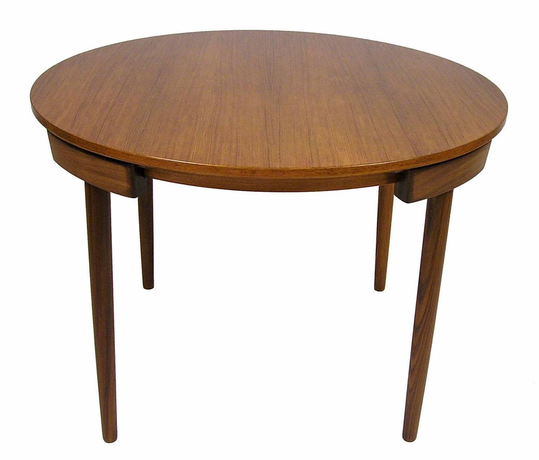 1950s Hans Olsen Teak Dining Table And Chairs Denmark At 1stdibs