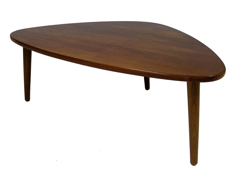 1960s Biomorphic Teak Coffee Table By Anton Kildeberg