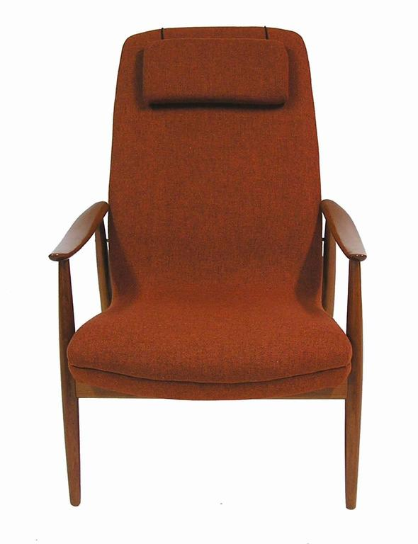 Scandinavian Modern 1960s Teak Lounge Chair by Ingmar Relling for Westnofa For Sale