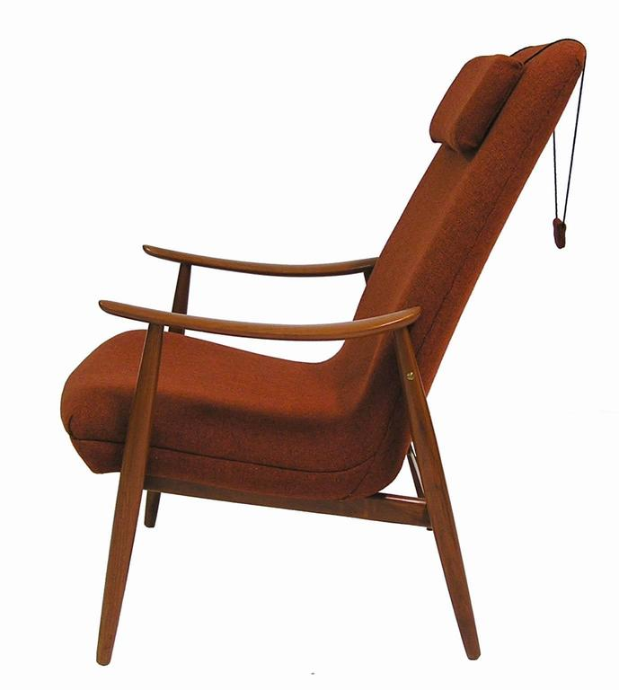 Norwegian 1960s Teak Lounge Chair by Ingmar Relling for Westnofa For Sale
