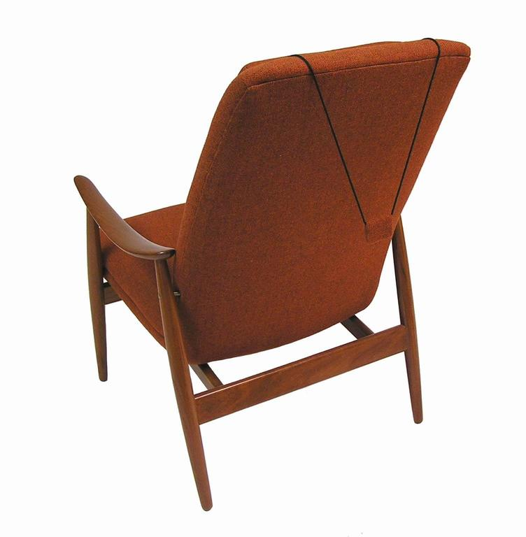 1960s Teak Lounge Chair by Ingmar Relling for Westnofa In Excellent Condition For Sale In Winnipeg, Manitoba