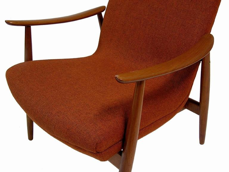 Mid-20th Century 1960s Teak Lounge Chair by Ingmar Relling for Westnofa For Sale