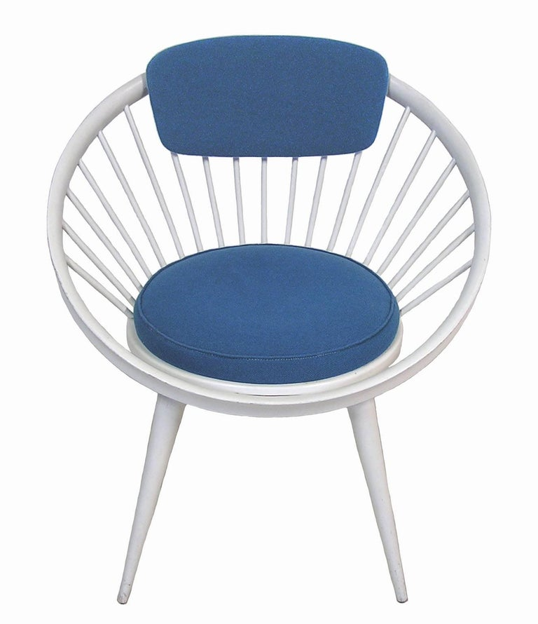 1960s Circle Lounge Chair by Yngve Ekstrom Italy For Sale at 1stdibs