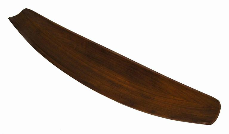 A beautiful staved teak bowl from the 1950s designed by Jens Quistgaard of Denmark. Commonly referred to as the