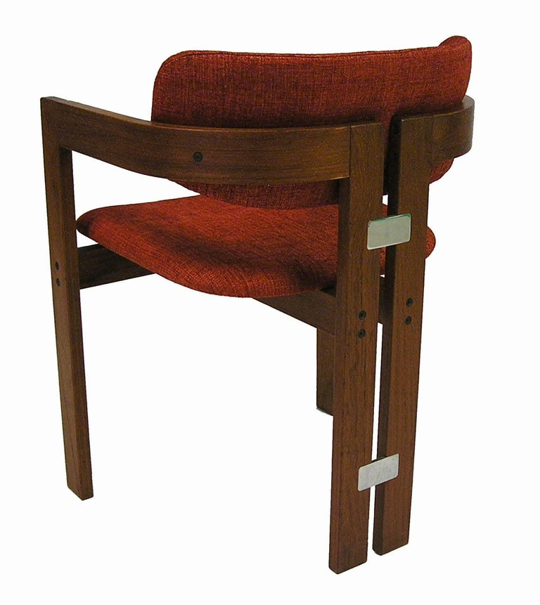 1960s Teak Pamplona Chairs By Augusto Savini For Pozzi Of