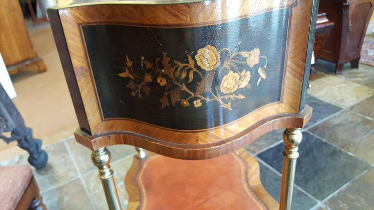 Ebony Late 19th Century French Jardiniere Stand For Sale