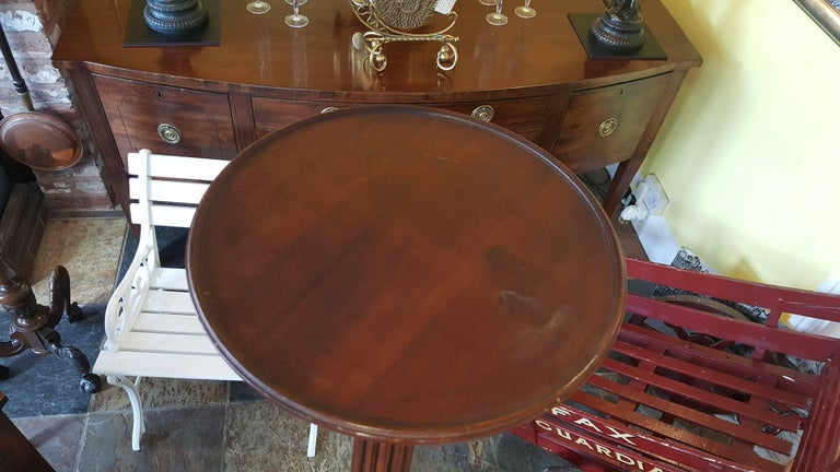 Early 20th Century, Tall Mahogany Torchere Plant Stand For Sale 1