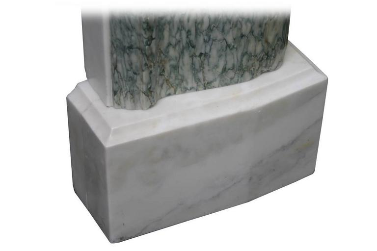 Antique 19th Century Regency Marble Fire Surround For Sale 2