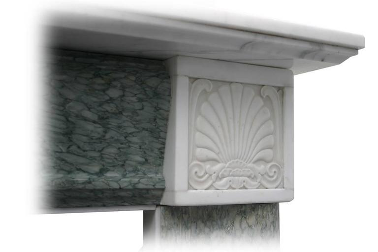 Antique 19th Century Regency Marble Fire Surround In Excellent Condition For Sale In Manchester, GB