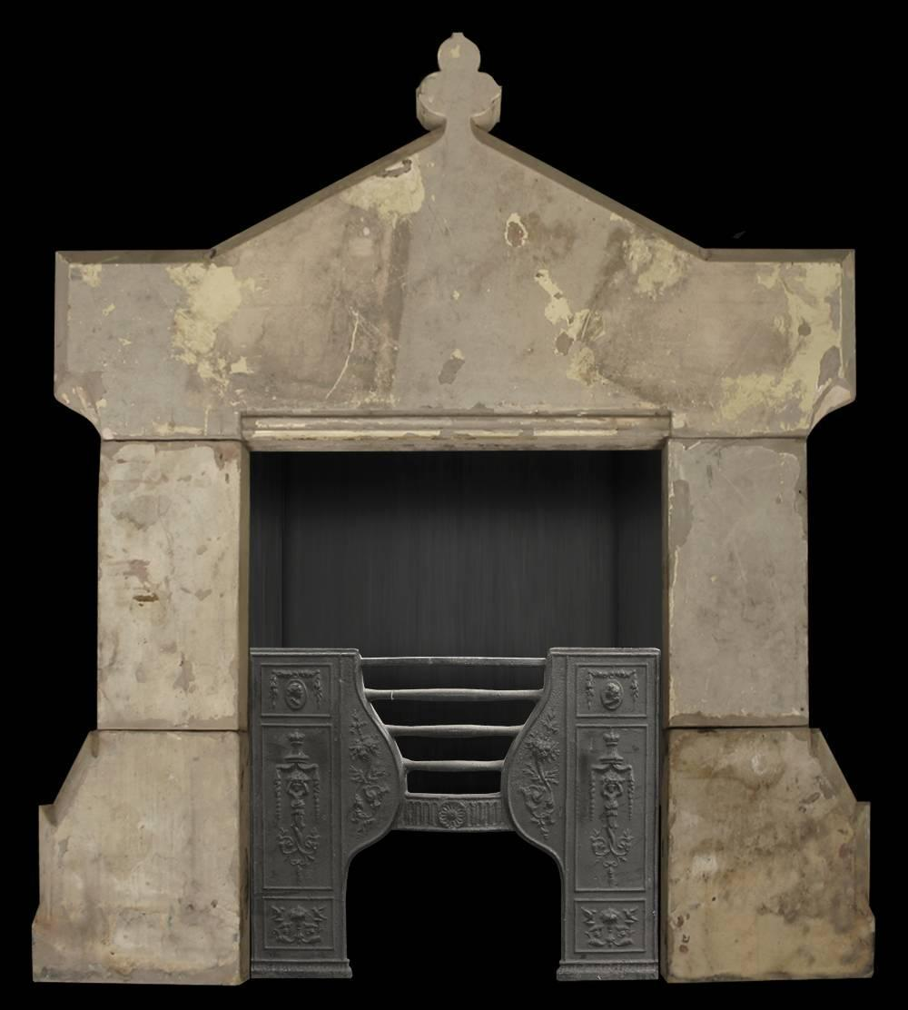 Antique Early Victorian Stone Fireplace Surround For Sale At 1stdibs