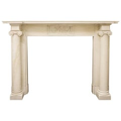 Fine Antique Georgian Fire Surround in Statuary Marble