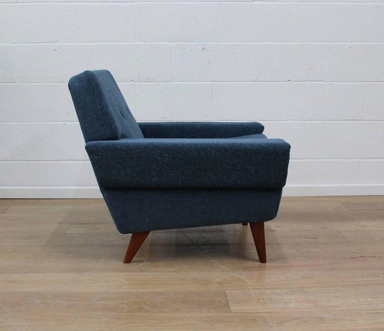 Danish Midcentury Armchair Fully Restored At 1stdibs