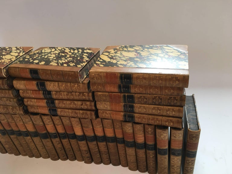 American Waverley Novels in 50 Volumes by Sir Walter Scott, Boston, 1857 For Sale