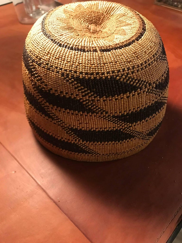 627ef758938 Native American Hupa Hat Basket For Sale at 1stdibs