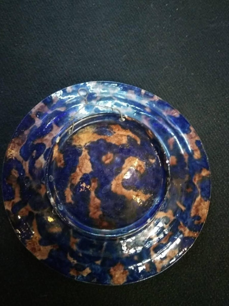 Palissy Style Charger with Fishes For Sale 2
