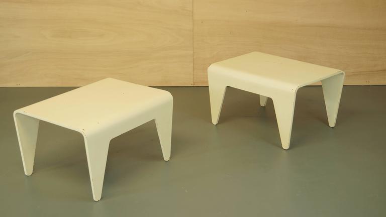Vintage Marcel Breuer For Isokon Bent Plywood Table Side