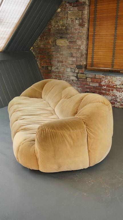Large Vintage 1970 Hk Cloud Sofa By Howard Keith Chaise