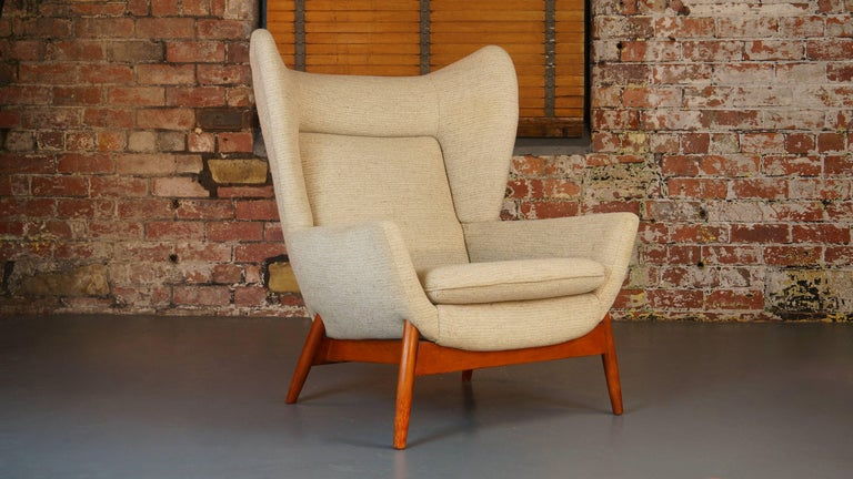 Vintage 1960s Parker Knoll Merrywood Wingback Armchair