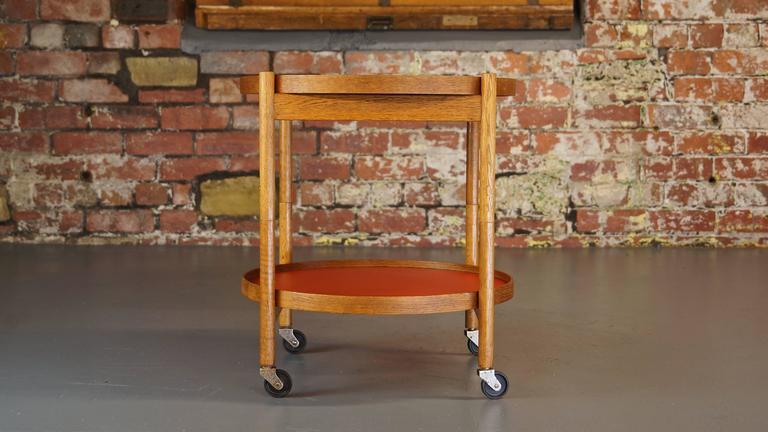 Hans Bolling Tray Table Teak Vintage Oak Torben Orskov