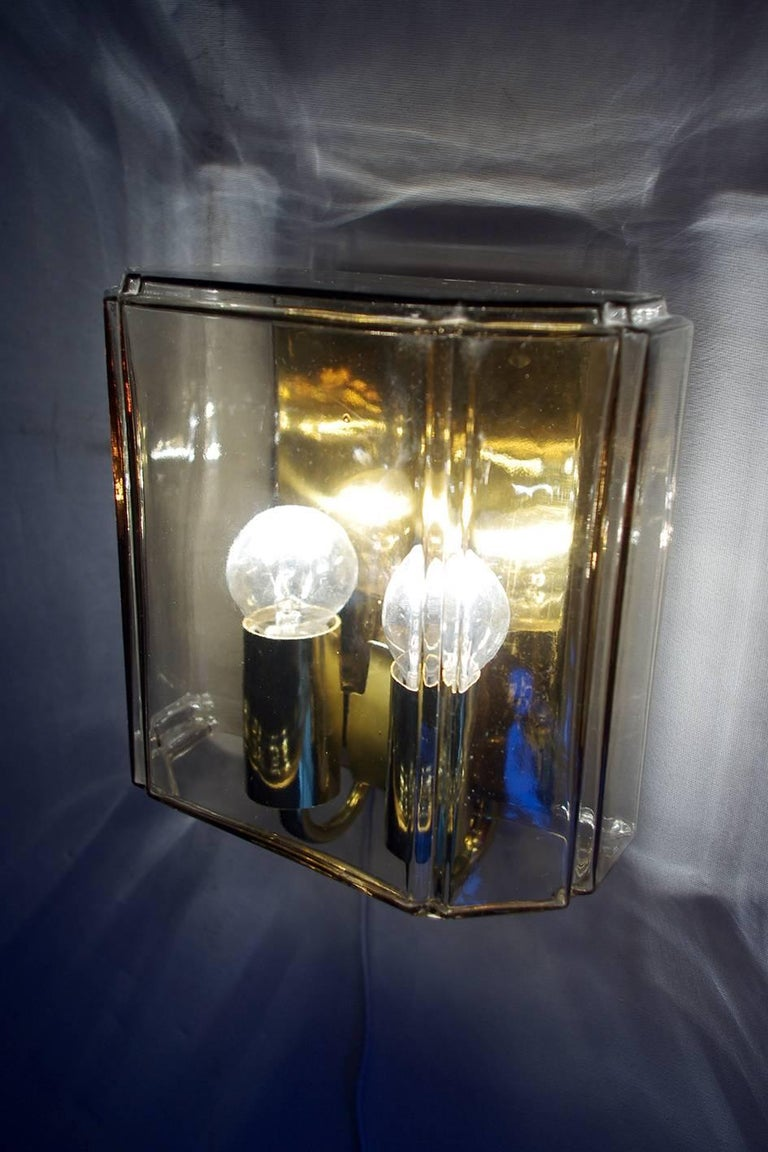 Wall Lamps Germany : Six-Modernist Sconces Wall Lamps by Limburg Germany, 1960s For Sale at 1stdibs