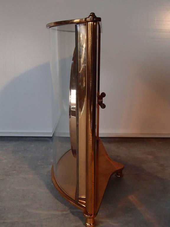 Art Deco Mid-Century Jaeger-LeCoultre Table Clock For Sale