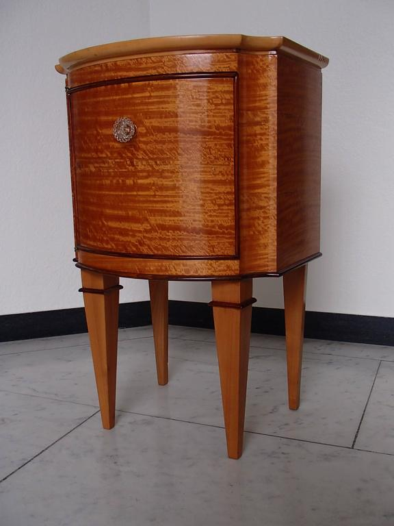 Lemon Wood Furniture ~ Pair of very elegant s lemon wood side tables