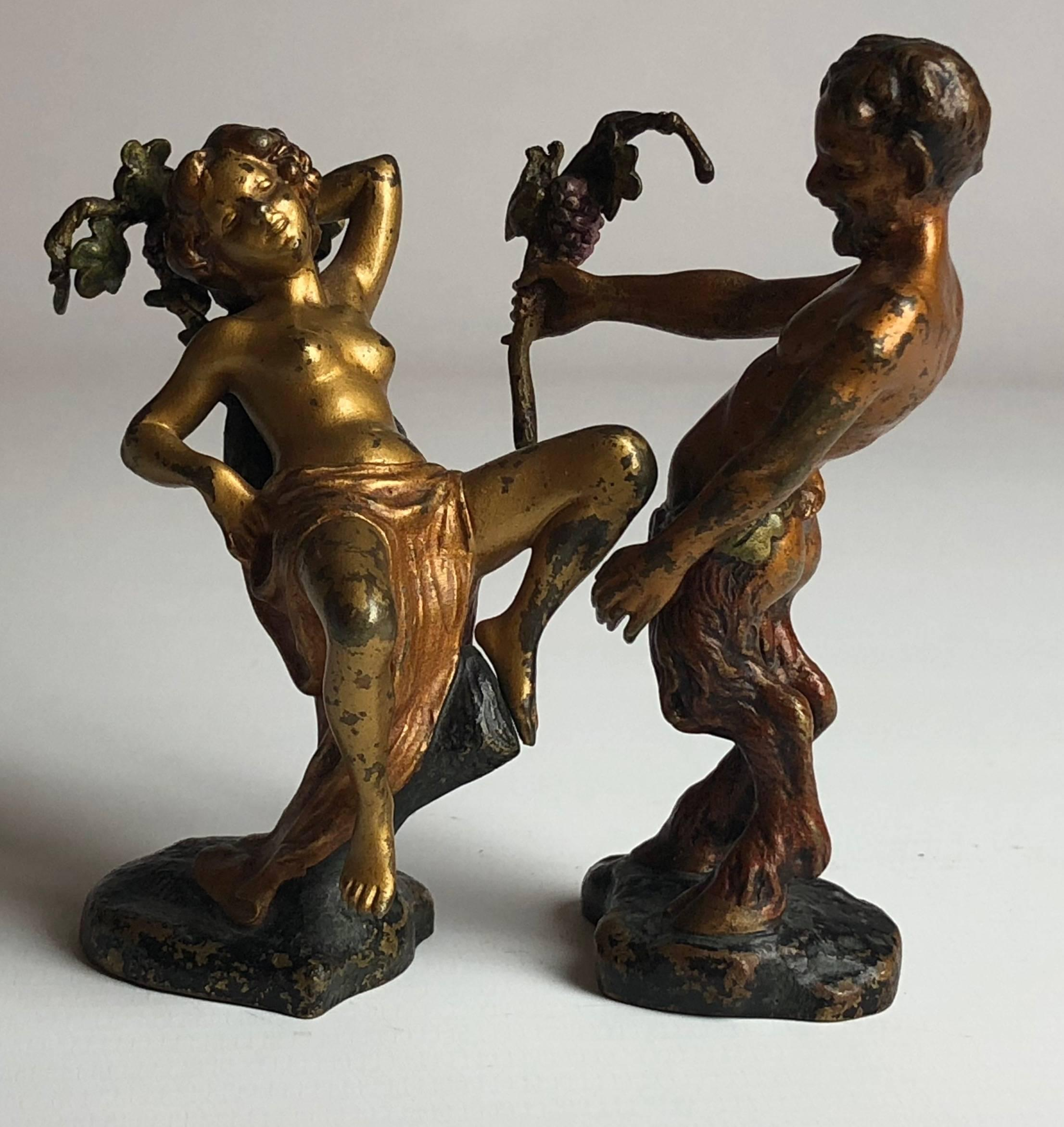 Erotic satyr art