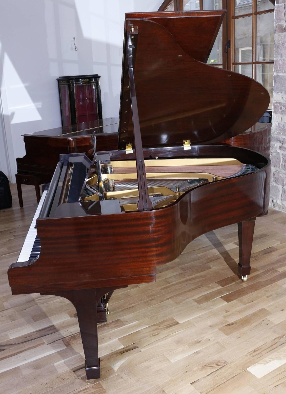 Steinway And Sons Model S Baby Grand Piano Mahogany