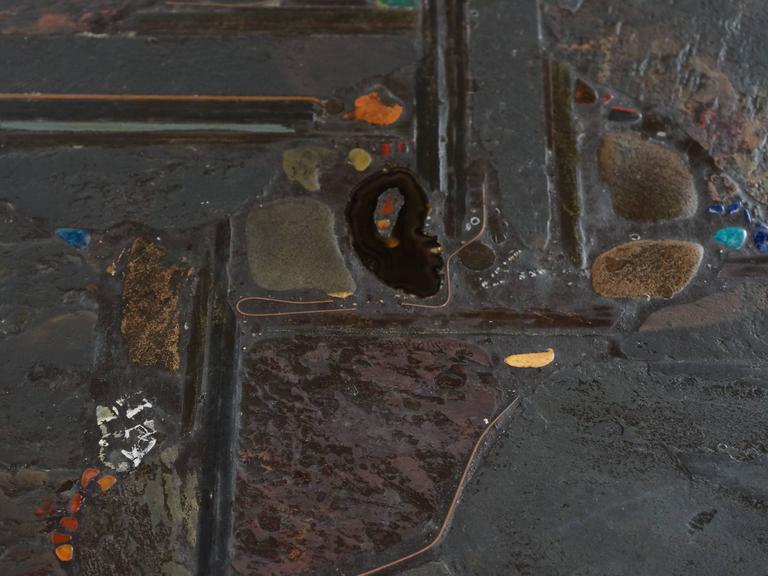 Brutalist Paul Kingma Coffee Table, 1990 7