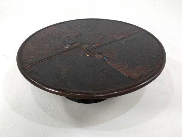 Brutalist Paul Kingma Coffee Table, 1990 4