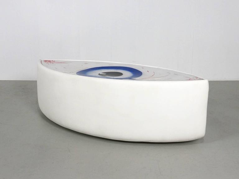 Post-Modern Seat Sculpture Le Temoin by Man Ray and Dino Gavina, 1971 For Sale