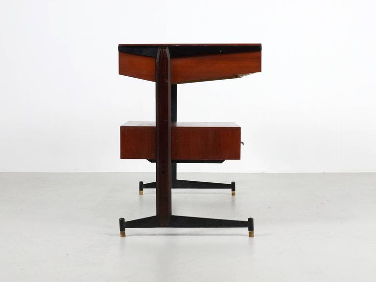 Small Italian Writing Desk, 1950s 5