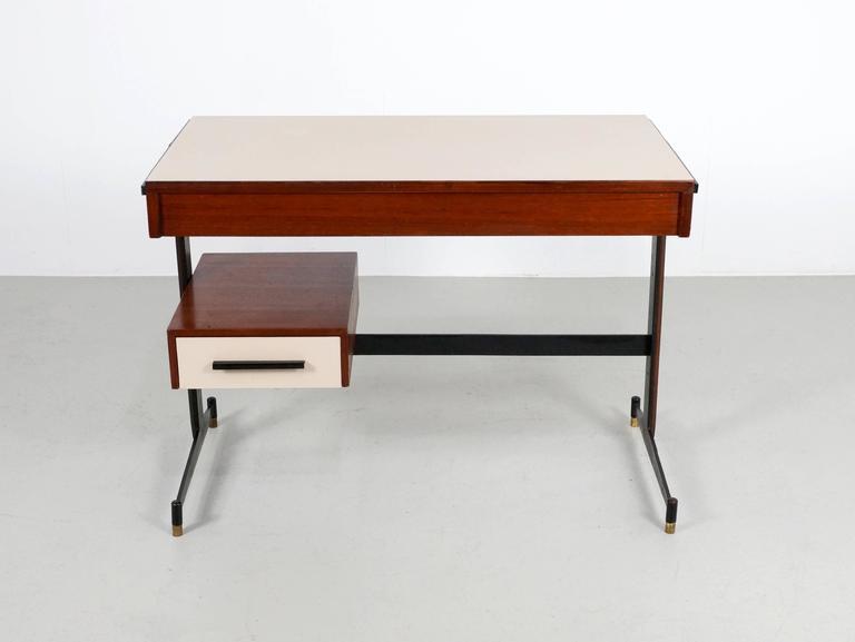 Small Italian Writing Desk, 1950s 3