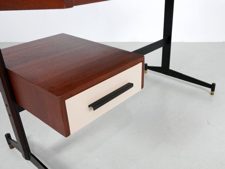 Small Italian Writing Desk, 1950s 6
