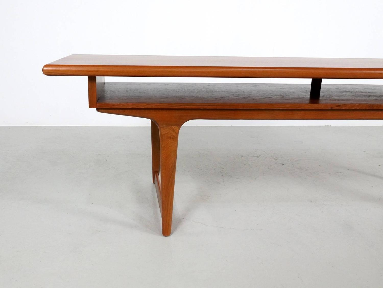 Large Danish Modern Teak Coffee Table 1960s For Sale At 1stdibs