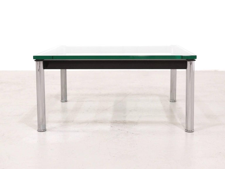 Le Corbusier Glass Table LC10 by Cassina 2